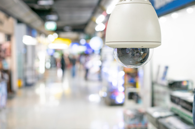 CCTV in retailer